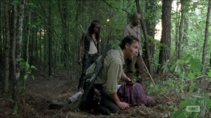 First Time Again- Rick after killing Carter