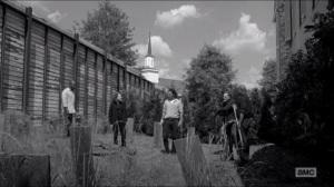 First Time Again- Rick finds Gabriel helping Tobin bury bodies