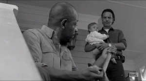 First Time Again- Rick introduces Morgan to Judith