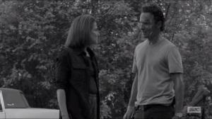 First Time Again- Rick tells Deanna that Reg was a good man