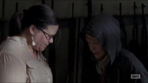 JSS- Carol teaches Lydia how to fire a gun