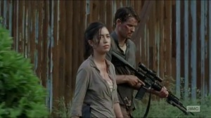 JSS- Spencer and Rosita talk