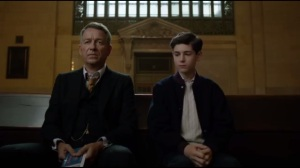 Knock, Knock- Bruce joins Alfred at the train station, apologizes