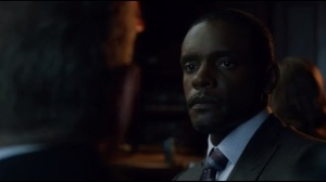 Knock, Knock- Lucius Fox speaks with Alfred about Bruce and trust