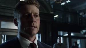 Last Laugh- Jim reminds the GCPD of the recent tragedy