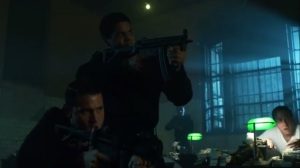 Scarification- GCPD and Strike Team break up one of Penguin's operations