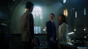 Scarification- Nygma tells Jim and Leslie that he's been dating Kristen