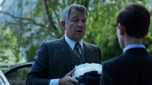 Strike Force- Alfred wants Bruce to run to Wayne Manor