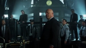 Strike Force- Barnes addresses GCPD