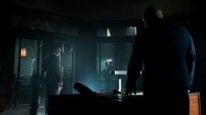 Strike Force- Captain Barnes speaks with Jim in private