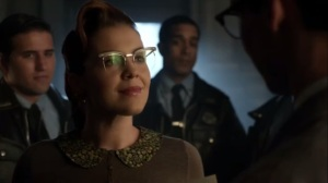 Strike Force- Kristen agrees to go on a date with Nygma