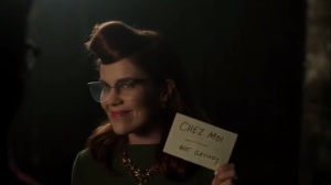Strike Force- Kristen shows up at Nygma's place for dinner
