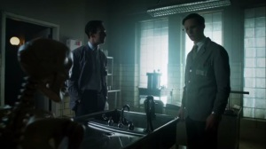 Strike Force- Nygma and Dark Nygma talk about Miss Kringle