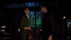 Strike Force- Nygma tells Kringle that he talks to himself