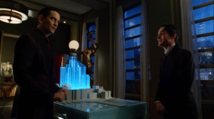 Strike Force- Penguin talks with Theo about the future of Gotham