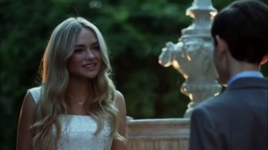 Strike Force- Silver St. Cloud, played by Natalie Alyn Lind, meets Bruce Wayne