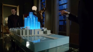 Strike Force- Theo reveals to Penguin his plans for Gotham