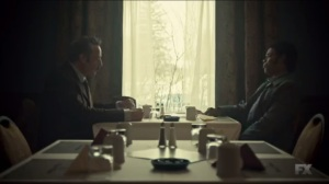 The Myth of Sisyphus- Joe Bulo and Mike Milligan talk Rye and shampoo- Fargo, FX