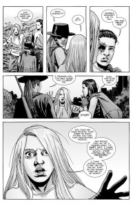 The Walking Dead #147- Lydia thinks Carl and Andrea are out to take her back to Alpha