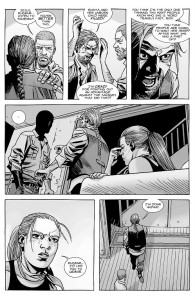 The Walking Dead #147- Rick and Andrea disagree with Eugene's idea for what to do about Lydia