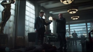 A Hard Pill to Swallow- Jim brings Piano Man up to Galavan's penthouse