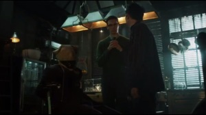 A Hard Pill to Swallow- Nygma brings Penguin one of Galavan's henchmen to kill