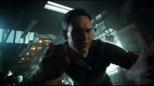 A Hard Pill to Swallow- Nygma prepares to give Penguin a needle