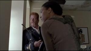 Always Accountable- Abraham and Sasha hear a truck approach