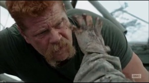 Always Accountable- Abraham struggles to combat the walker