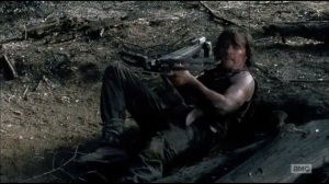 Always Accountable- Daryl finally retrieves his crossbow
