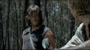 Always Accountable- Daryl tells his captors that they'll be sorry