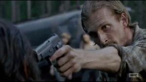 Always Accountable- Gun in Daryl's face