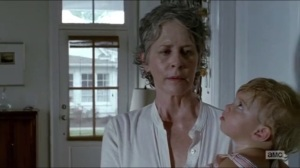 Heads Up- Carol speaks with Sam about killing to not become a monster