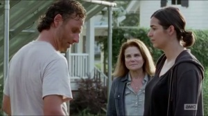 Heads Up- Deanna comes to thank Rick