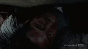 Heads Up- Glenn crawls under the dumpster