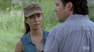 Heads Up- Rosita reams out Eugene