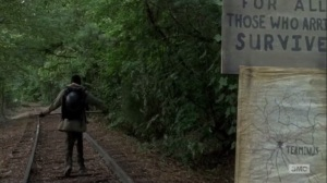Here's Not Here- Morgan heads for Terminus