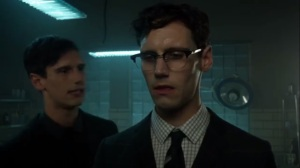 Mommy's Little Monster- Dark Nygma asks Ed how the rush felt