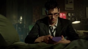 Mommy's Little Monster- Nygma reads a clue he left for himself