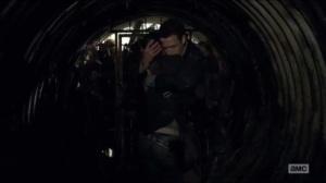 Now- Aaron hugs Maggie
