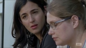 Now- Denise asks Tara if it's the end of the world