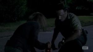 Now- Rick helps Deanna finish off a walker