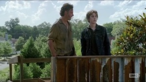 Now- Ron tells Rick about Enid
