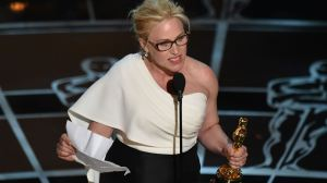 Patricia Arquette calls for equal pay