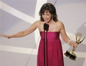 Sally Field talks about war