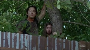 Start to Finish- Glenn and Enid spot Maggie