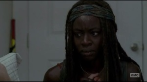Start to Finish- Michonne and Deanna talk