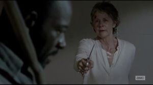 Start to Finish- Morgan and Carol about to fight