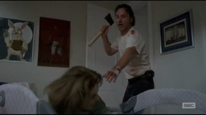 Start to Finish- Rick almost kills Deanna