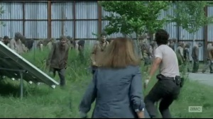 Start to Finish- Rick and Deanna deal with the walkers